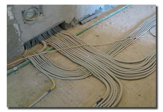 электропроводка для установки кондиционера